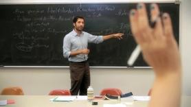 Delmont teaching photo
