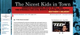 Nicest Kids Digital Project