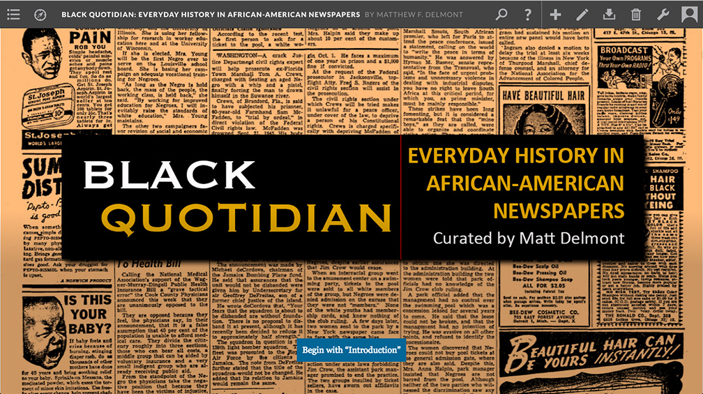 Black Quotidian screenshot