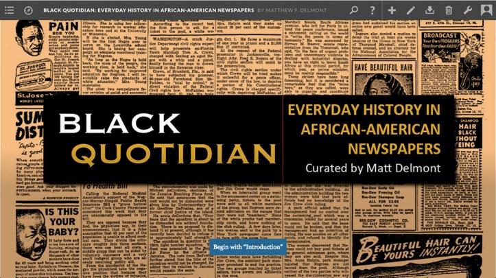 Black Quotidian screenshot